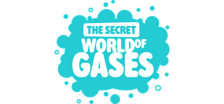 Secret World of Gases logo wide